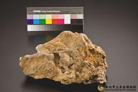 本山礦場矽化安山岩圖1