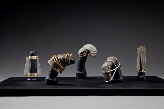 陳亭君2013金工大賽首飾組金質獎得獎作品「自己的小房子」