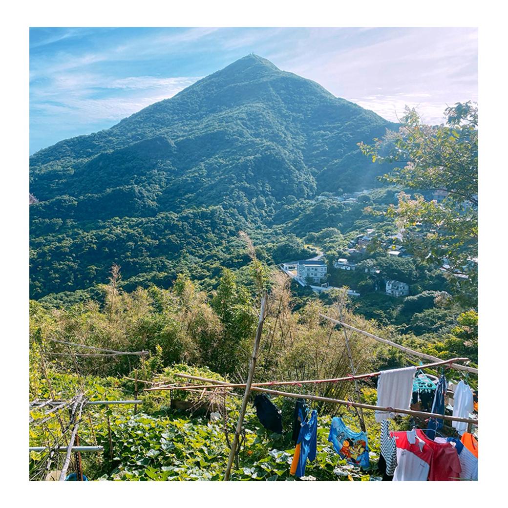 從九份眺望基隆山