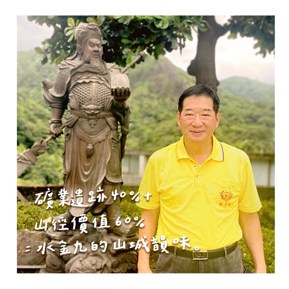 金瓜石勸濟堂總幹事|林欽隆