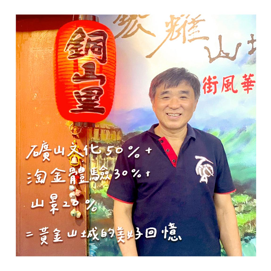 金瓜石文化館創辦人|蕭錦章