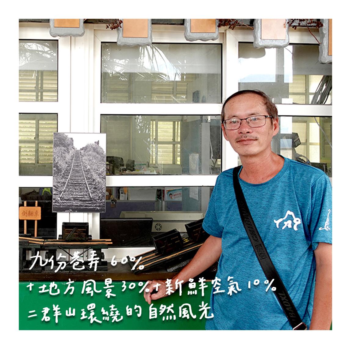 九份國小老師 藍明富