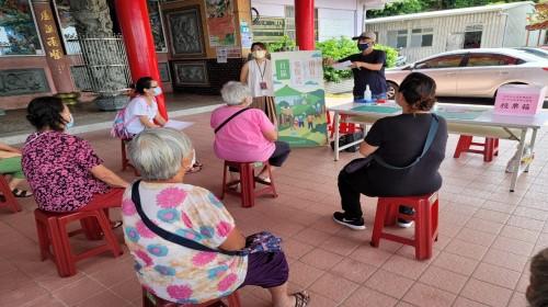 社區參與式預算提案向居民說明照