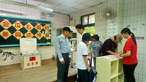 「107年金瓜石社區參與式預算」 投票結果公告