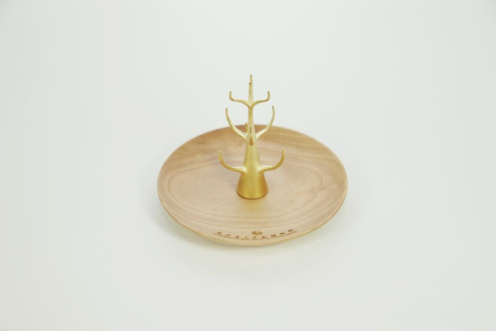 黃金樹飾品架